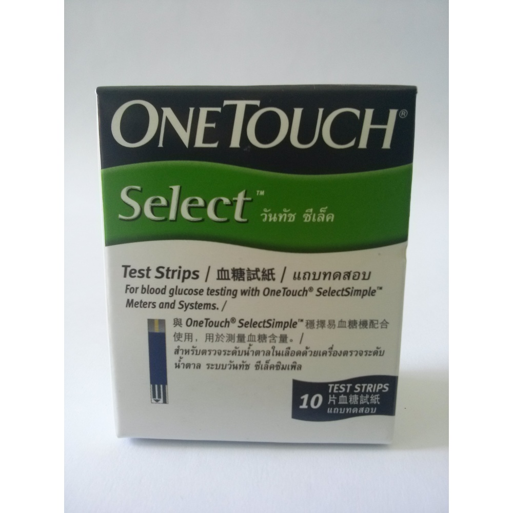 Que thử đường huyết ONETOUCH SELECT STRIP 10 que